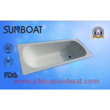 60 Inch Skidproof Enamel Steel Bathtub/Bathroom Washing Tub Health Grade
