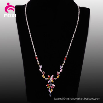 Новый Дамы Изделия Gemstone Ювелирные Изделия Ожерелье