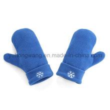 Горячие продажи трикотажных теплых перчаток из флиса / рукавицы
