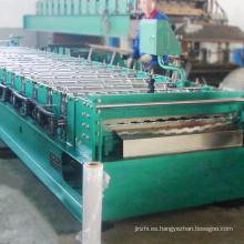 Nueva tecnología de ancho personalizado teja manual de teja que hace la máquina