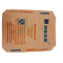 Special cement plastic bag for masonry decoration