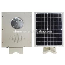 IP66 2016 5w 20w 30w Solar Power Street Light