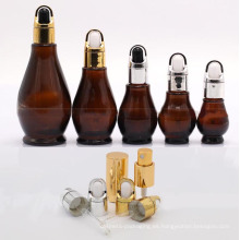 Botella de cristal botella forma calabaza (NBG07)