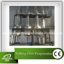Suco de frutas Evaporador de filme com queda de efeito único