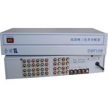 1X8 1080P Component / YPbPr Splitter