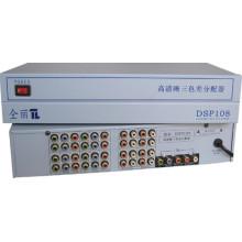 1X8 1080P Component/YPbPr Splitter