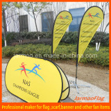 Advertising Popup a Frame Flag Banner