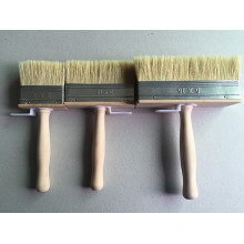 Wooden Handle Plastic Wire Paint Brush (YY-613)
