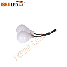 DMX512 ampoule à DEL 3D laiteuse suspendue