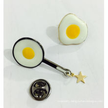 Funny Fried Egg Brooch Fashion Jewelry