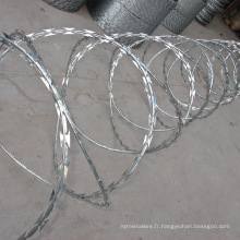 Galvanisé Hot Sale Razor Wire (usine)