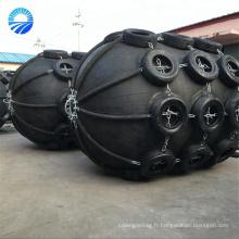 Garde-boue pneumatique flottant en caoutchouc de bateau avec la couverture de pneu d'avion
