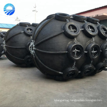 Boat Floating Pneumatic Rubber Fender with Aircraft Tire Cover