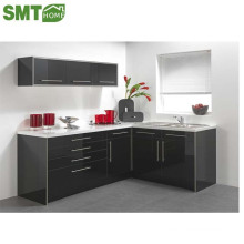 high gloss European style modular MDF MFC kitchen cabinet