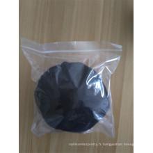 Gros usine prix pas cher naturel noir synthétique faux cheveux chignon
