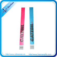 Text Logo Colorful Wrsitband Tyvek Material