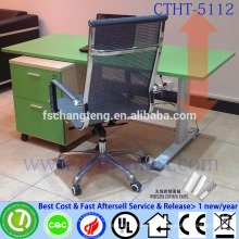 healthy furniture office boss furniture height adjustable computer desk adjustable height office table