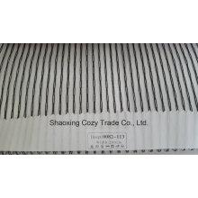 Новый популярный проект полоса Organza Voile Sheer занавес ткани 0082113