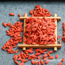 Certified organic dried goji berries good for health