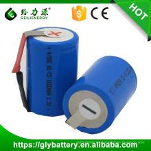 GLE 4 / 5sc 1600 mah 1.2 v nicd sc batería recargable 1.2 v ni cd batería