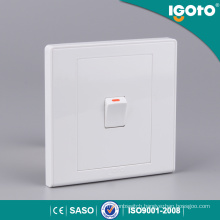 Igoto Home Electric 1gang 1 Way Wall Switch Small Button Wall Switch
