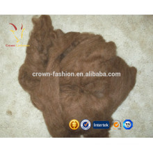 Wholesale Pure Merino Sheep Wool Dehaired Brown/Black Cashmere Fiber