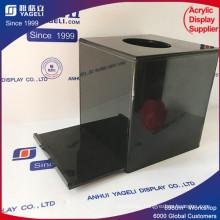 Customized Logo Lighting Beauty Acrylic Donation Box