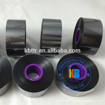 Compatible Videojet 6210 wax resin ink TTO thermal transfer ribbon