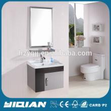 Hangzhou Hot Sale Mirrored Vanity Stainless Steel India Cabinet de salle de bains