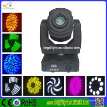 DJ spot compacto 60w LED movendo cabeça luz