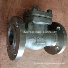 API602 Кованый обратный клапан для фланцевого присоединения фланца из нержавеющей стали