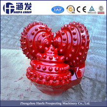 Oil Water Gas Well Drilling Tricone Rock Bits pour Hard Rock