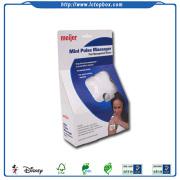 Mini pulso masajeador cajas de papel de embalaje
