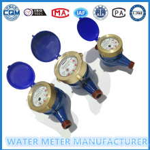 Multi Jet Water Flow Meter Dry Type for Cold Water Dn15 Model: Lxs-15e