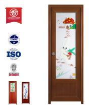 Pvc panel puertas pvc plastico interior puerta de madera