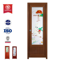 Portes en panneaux de pvc Porte pvc en plastique intérieur porte en bois