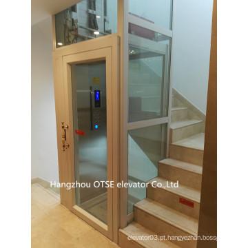 Casa usado vidro único uma pessoa elevador elevador
