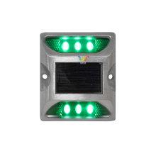 Прочный алюминиевый светоотражающий штифт для предупреждения о дорожном движении