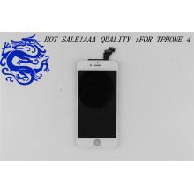 Numériseur d'écran tactile d'affichage à cristaux liquides de pièces de rechange de téléphone portable original de fournisseur d'usine de la Chine pour l'iPhone 4