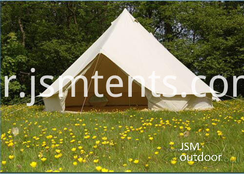 waterproof canvas bell tents