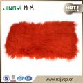En gros de haute qualité à long cheveux tibétain plaques de fourrure de mouton mongol