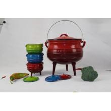 3Legs Cast Iron Enamel South Africa Pot/Potjie