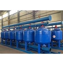 Filtro de arena poco profunda para tratamiento de filtración de agua de río