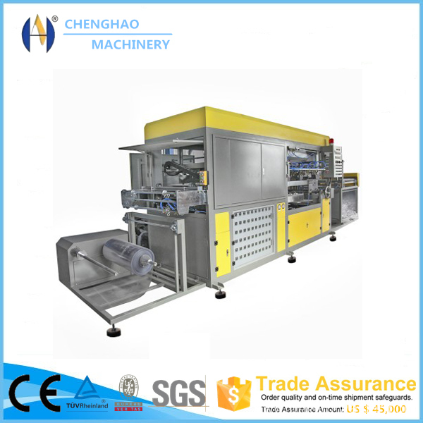 Automatic PVC Box Theforming Machine