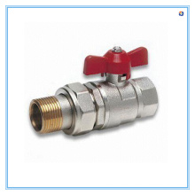Ball Valve with Natural Surface and Butterfly Handle