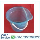 27.5*18.5*h25cm Home Blue Clear Flexible Plastic Buckets With Strong Handles - Bn6073