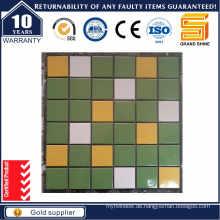 Mix Farbe glasiert Schwimmbad Keramik Mosaik GS3403