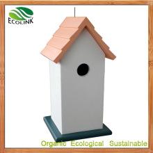 Custom Designer Compact WPC Birdcage for Garden Ornament