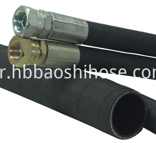 Hose Assembly for Hydraulic Stand