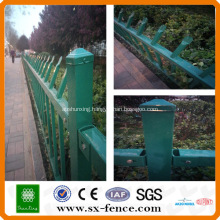 high security zinc steel tube fence